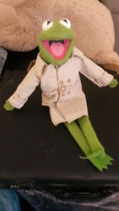 Fisher Price Kermit the Frog 1981 Dress-up Muppet.