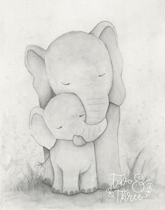 Being A Mom Quotes Discover Elephant nursery print childrens wall art watercolour neutral colour Childrens art print elephant watercolour animals neutral wall art family sweet nursery playroom bedroom Baby Elephant Drawing, Elephant Love, Elephant Art, Elephant Doodle, Baby Elephant Tattoo, Baby Animal Drawings, Childrens Wall Art, Nursery Prints, Nursery Drawings