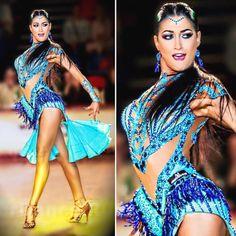 According to experts, salsa dancing can burn up as many as 10 calories per minute. Latin Ballroom Dresses, Ballroom Dance Dresses, Ballroom Dancing, Latin Dresses, Ballroom Costumes, Dance Costumes, Shall We ダンス, Dance Team Shirts, Salsa Dress