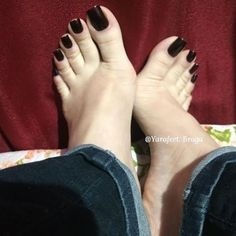 Image may contain: one or more people, shoes and closeup Pretty Toe Nails, Cute Toe Nails, Pretty Toes, Foot Pics, Foot Pictures, Really Long Nails, Duck Feet Nails, Acrylic Toe Nails, Pink Pedicure