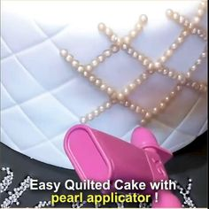 Save yourself tons of time and effort with our Pearl Applicator! Easily add pearls to your cakes and cupcakes 10X faster without adding them one by one using your fingers – All you do is simply unclip the tub, fill it with pearls, then squeeze the trigger to decorate your classy, elegant cakes! Now available 70%OFF with Free Shipping!! Only on neulons.com