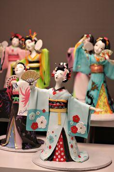 AMAZING Geisha Cakes!