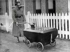 I Thought I Had Seen Everything... Then I Went Back To The 1930s And Saw This...stroller that would protect babies from gas. (1938)