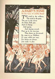 Ephemera Fairy Quotes, Vintage Fairies, Vintage Bee, Flower Fairies, Fairy Ring, John Martin, Fairy Art, Bee Poem, Enchanted