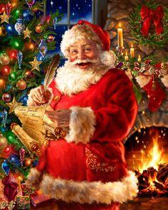 Santa Claus | Image du Blog mamietitine.centerblog.net