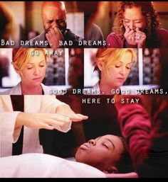 Probably the saddest moment of Grey's Anatomy. No matter how many times i watch this scene i cry every single time
