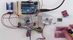 H-Brücke L293D mit bipolarem Schrittmotor am Arduino - Teil 2