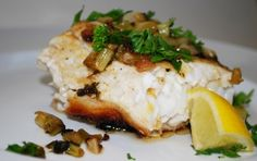 Halibut In White Wine