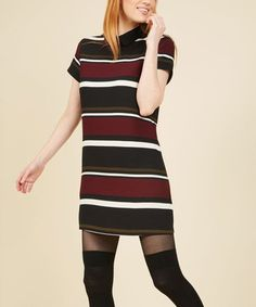 Loving this Red Stripe Presentation Day Posh Shirt Dress - Plus Too on #zulily! #zulilyfinds
