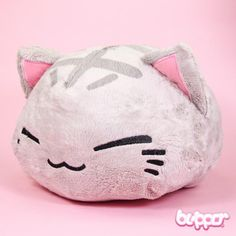 Nemuneko Plush - Medium / Gray