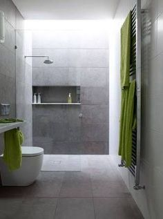 Image result for bathroom grey tile