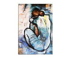 "Reprodukce obrazu ""Akt III"", 50 x 70 cm Pablo Picasso, Disney Characters, Artwork, Painting, Inspiration, Idea Paint, Biblical Inspiration, Work Of Art, Auguste Rodin Artwork"