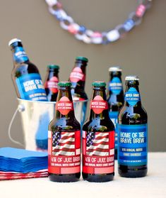 4th of July Party Printables from www.evermine.com