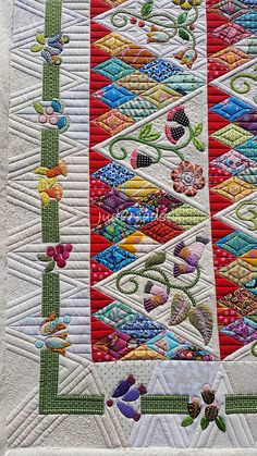 Quilting by Judi Madsen | Green Fairy Quilts.