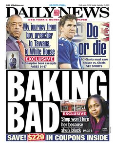 """BAKING BAD"" on the Daily News, doesn't really work"
