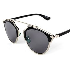 Cheap eyewear video glasses, Buy Quality glasses and contact lens case directly from China eyewear plastic Suppliers: hot Vintage Metal frame Sunglasses Women Brand New Designer Cat Eye Glasses Fashion Women Decoration Men Class Womens Fashion Casual Summer, Black Women Fashion, Polarized Sunglasses, Sunglasses Women, Vintage Sunglasses, Metal Vintage, Cat Eye Glasses, Womens Glasses, Sunglass Frames