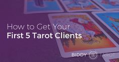 This is a good read for new Tarot readers: My key strategies for attracting your first 5 Tarot clients. http://www.biddytarot.com/first-5-clients/