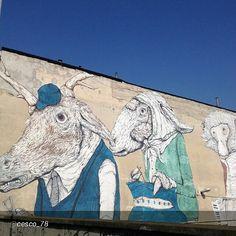 #Torino raccontata dai cittadini per #InTO Foto di @cesco_78 sul muro