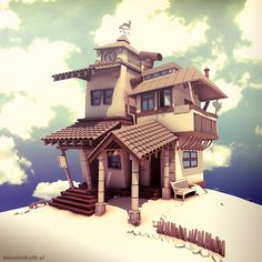 crooked house concept