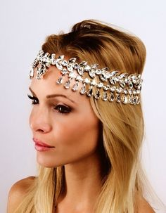 The Goddess Headpiece is perfect to dress up your holiday outfit this season! #popupshop #Krown