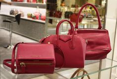 These #NewSeason bags are creating quite a (raspberry) ripple in our #Givenchy Boutique... http://www.harrods.com/brand/givenchy/accessories?cid=scm_pip_tw_beaut_040914