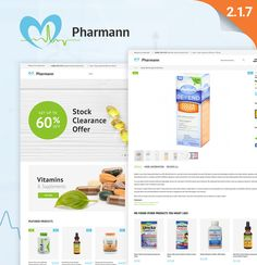 Magento Template , Pharmann - Drug Store