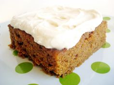 Carrot Cake Sheetcake