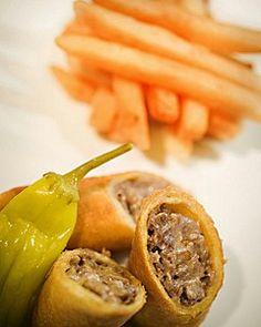 The Famous #Philly #Cheesesteak #SpringRoll Recipe from the Fountain Restaurant | Four Seasons Hotel Philadelphia | Behind the Double Doors Blog
