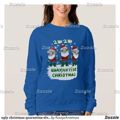 Funny Xmas Gifts, Black Santa, Ugly Christmas Sweater, Hoodies, Sweatshirts, Wardrobe Staples, Fitness Models, Graphic Sweatshirt, Stylish