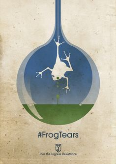 ingress : frog tears by precociousmouse
