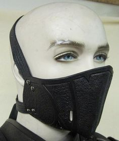 Nightingale Molded Leather Mask armor by SharpMountainLeather, $74.99