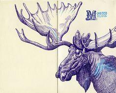 Tommy Kane's Art Blog: Moose