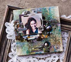 Elena Morgun: Микс-медийный холст