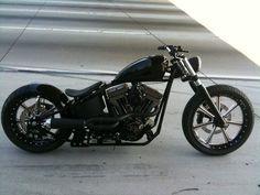 Bobber Inspiration | Harley-Davidson bobber | softailnation June 2014