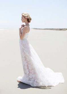 Love this pose for bridals. Brooke Thomas