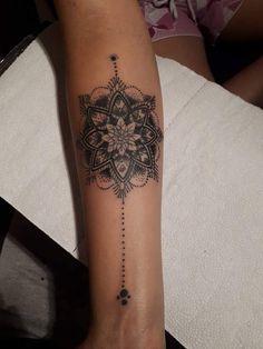 My second tattoo. A második tetoválásom. #tattoo #second #mandala #tetoválás #mytattoo I Tattoo