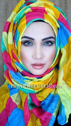 Latest Summer Fashion Hijab Designs & Styles 2016-2017 Collection