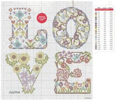 Love it. @Tracy van Rensburg how pretty is this? i saw this completed in a magazine but it is nice to have the pattern.