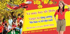 Vietjet Air tăng cường mở bán vé tết 2016 đợt cuối