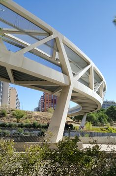 The Happy Pontist: Spanish Bridges: 1. Paloma Footbridge, Madrid