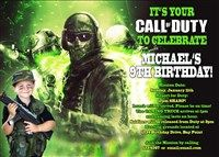 18 best call of duty birthday invitations images on pinterest neon green call of duty ghosts birthday invitations filmwisefo