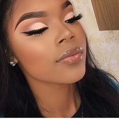 2019 Makeup Ideas for Dark Skin Women - Make Up - Cute Makeup, Glam Makeup, Gorgeous Makeup, Pretty Makeup, Eyeshadow Makeup, Makeup Tips, Makeup Looks, Hair Makeup, Makeup Ideas