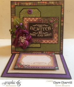 Rare Oddities easel card. I love this new collection! And this card.