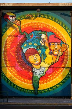 National Hispanic Heritage Month: GSU's Center for Latin American and Latino/a Studies Latin America, South America, Arte Latina, Shirt Art, Graffiti, Hispanic Heritage Month, Paint Party, Native American Art, Urban Art