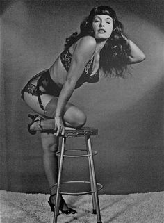 Bettie Page  Photo by Bunny Yeager, 1950s