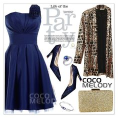 """Life of the party"" by teoecar ❤ liked on Polyvore featuring Nasty Gal, modern, women's clothing, women, female, woman, misses, juniors and Cocomelody"