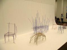 Rough draft sketches turned into actual furniture by Daigo Fukawa | Spoon & Tamago