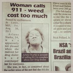 Weed cost too much