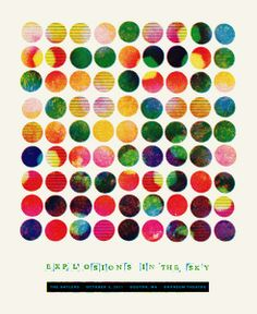 explosions in the sky music gig posters | Explosions in the Sky/ Orpheum Boston, MA/ ...