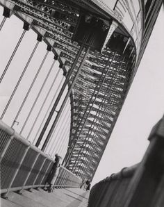 Penn State Special Collections Library, Bayonne Bridge, 1932